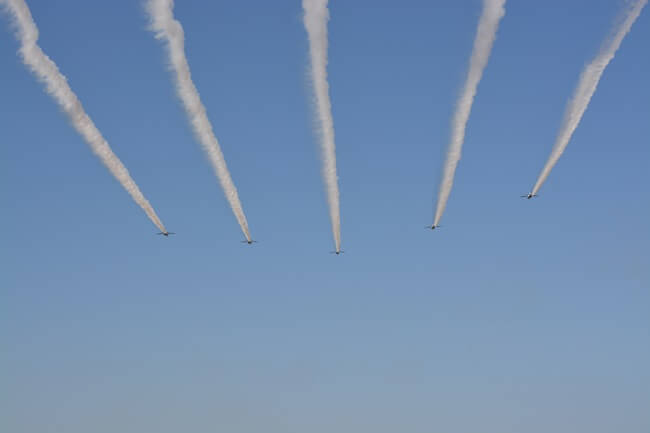 ブルーインパルス飛行06