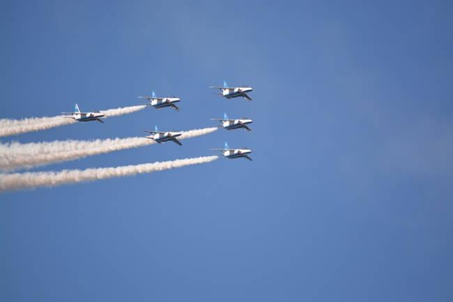 ブルーインパルス飛行07